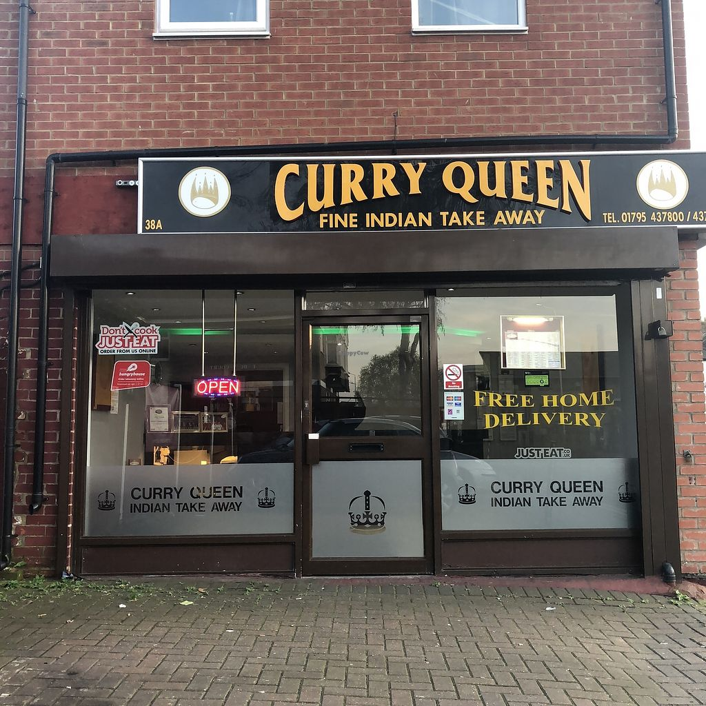 """Photo of Curry Queen  by <a href=""""/members/profile/TARAMCDONALD"""">TARAMCDONALD</a> <br/>Exterior of takeaway eatery <br/> April 18, 2018  - <a href='/contact/abuse/image/112614/387714'>Report</a>"""