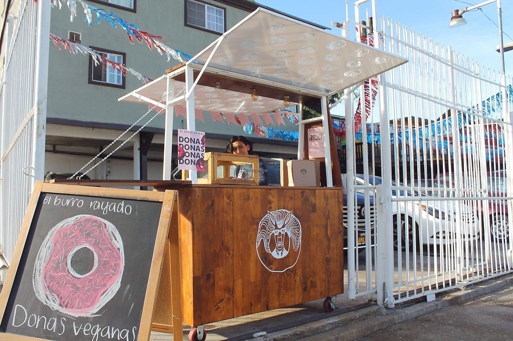 """Photo of El Burro Rayado Donuts - Food Cart  by <a href=""""/members/profile/AnaZamora"""">AnaZamora</a> <br/>Carrito de venta el burro rayado donuts <br/> February 25, 2018  - <a href='/contact/abuse/image/112631/363749'>Report</a>"""