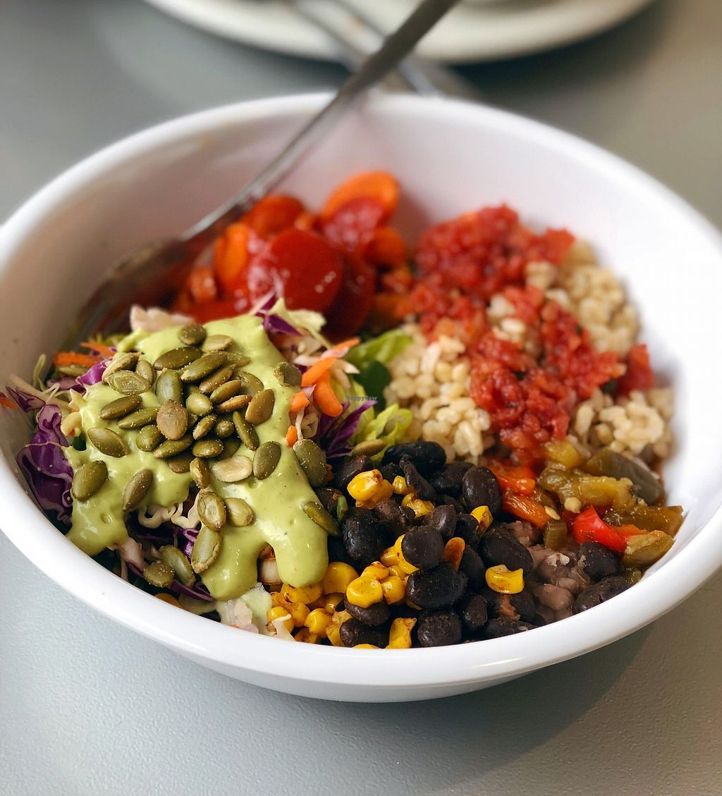 """Photo of Brightside Kitchen  by <a href=""""/members/profile/BrightsideKitchen"""">BrightsideKitchen</a> <br/>This is the Costa Rica Inspired Brightside Bowl.  These bowls change up a bit each day <br/> February 20, 2018  - <a href='/contact/abuse/image/112641/361815'>Report</a>"""