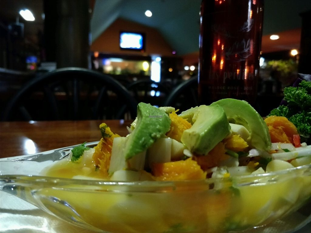 "Photo of La Fuente de los Mariscos  by <a href=""/members/profile/jvargas127"" class=""title__title"">jvargas127</a> <br/>Ceviche Vegetariano (palmito, pejibaye y aguacate)  <br/> March 1, 2018  - <a href='/contact/abuse/image/112649/365179'>Report</a>"