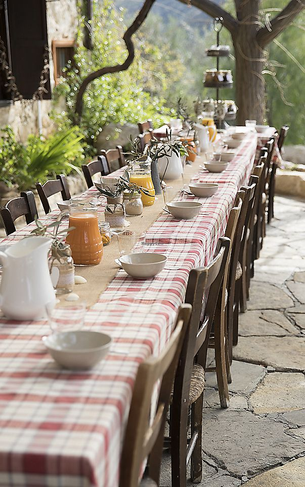"""Photo of The Olive Tree Sanctuary   by <a href=""""/members/profile/Dharmalivi"""">Dharmalivi</a> <br/>Breakfast table set at The Olive Tree Sanctuary <br/> April 5, 2018  - <a href='/contact/abuse/image/112672/381016'>Report</a>"""