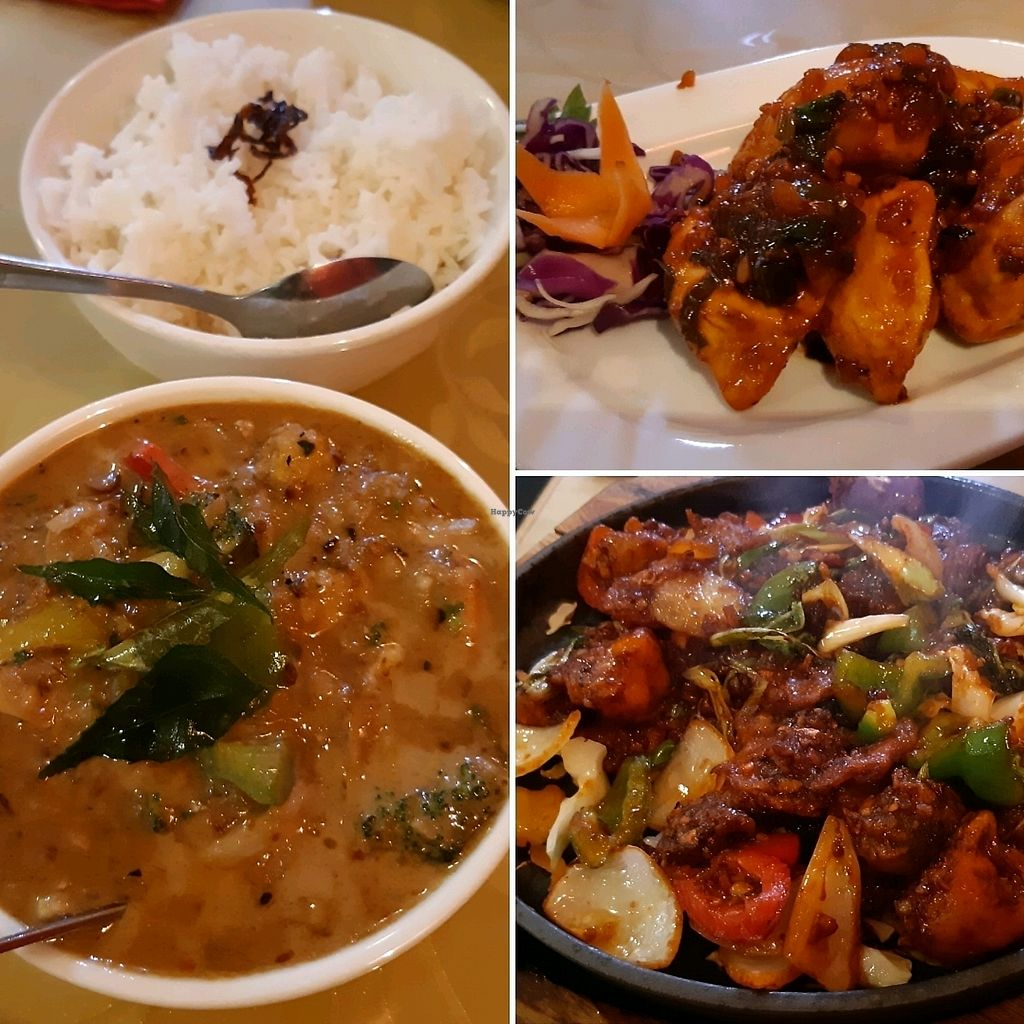"""Photo of Tangra Street  by <a href=""""/members/profile/Limatango"""">Limatango</a> <br/>Malaysian curried vegetables, momos, sizzling szechuan Veges  <br/> February 28, 2018  - <a href='/contact/abuse/image/112683/365065'>Report</a>"""