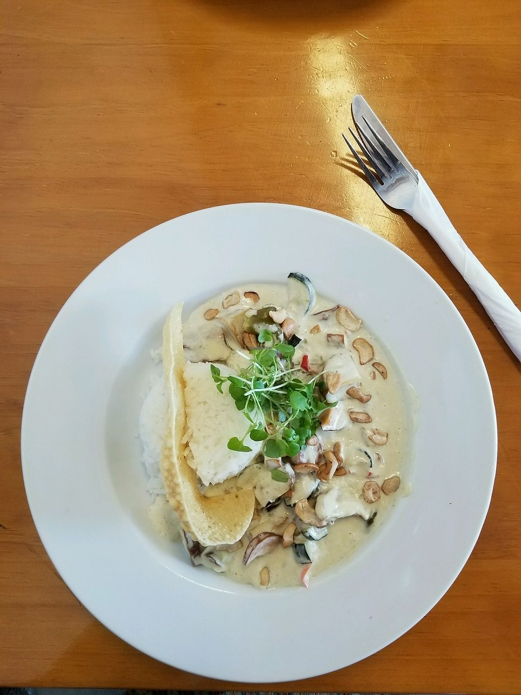 "Photo of Mud Ducks Cafe  by <a href=""/members/profile/AndyTheVWDude"">AndyTheVWDude</a> <br/>Vege Thai Green Curry <br/> March 15, 2018  - <a href='/contact/abuse/image/112778/370920'>Report</a>"