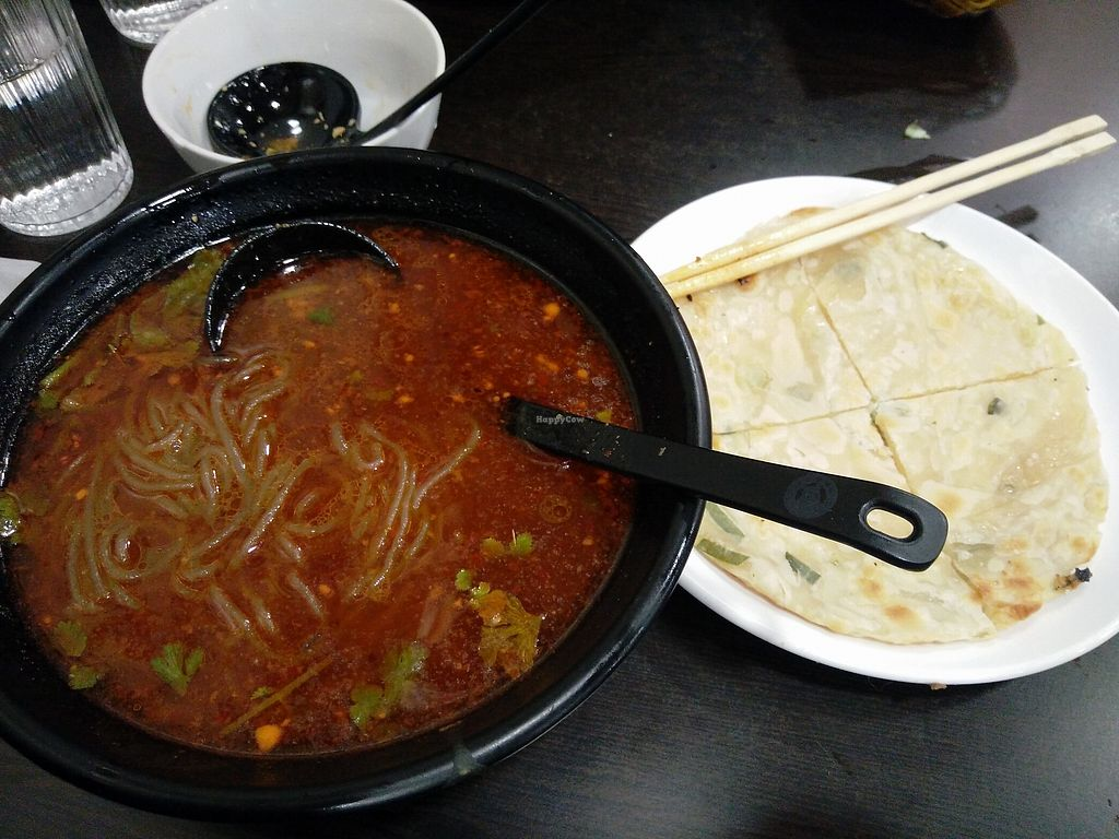 """Photo of Xiongzai  by <a href=""""/members/profile/martinicontomate"""">martinicontomate</a> <br/>vegan noodle soup <br/> March 17, 2018  - <a href='/contact/abuse/image/112789/372134'>Report</a>"""