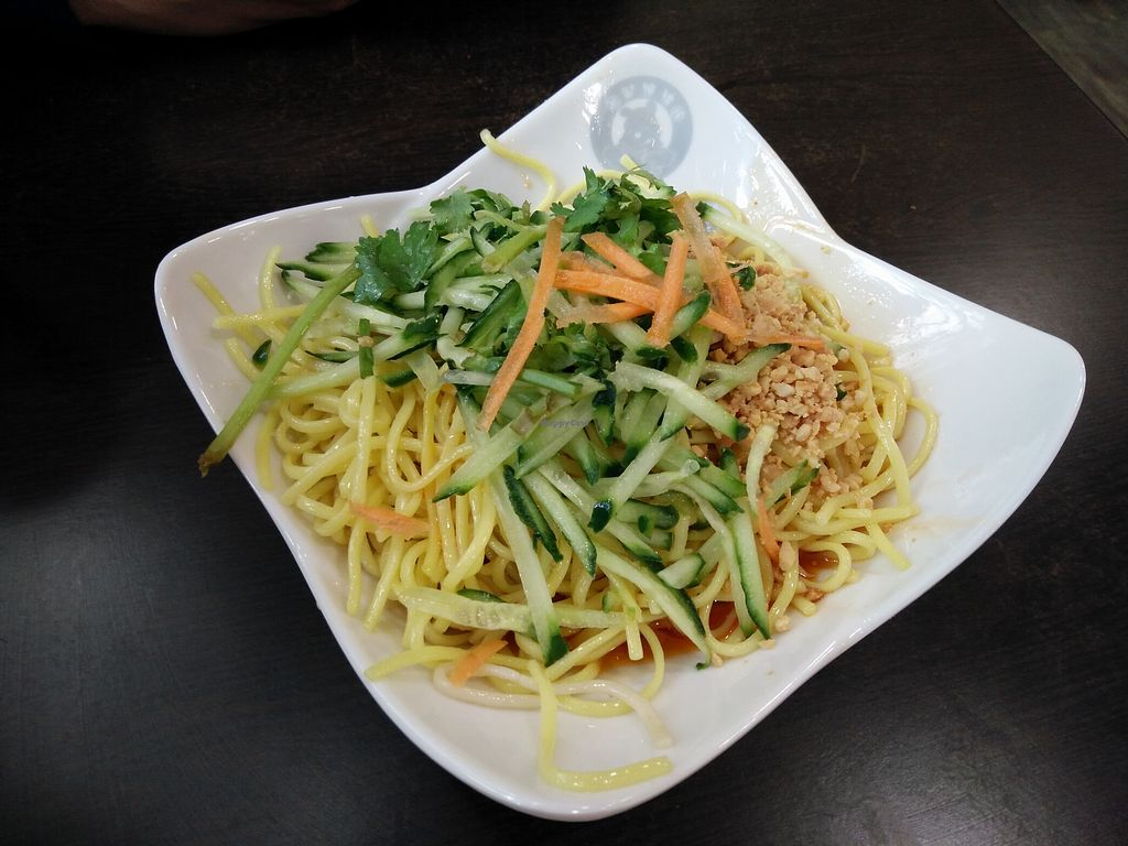 """Photo of Xiongzai  by <a href=""""/members/profile/martinicontomate"""">martinicontomate</a> <br/>noodles with peanut sauce <br/> April 28, 2018  - <a href='/contact/abuse/image/112789/392214'>Report</a>"""