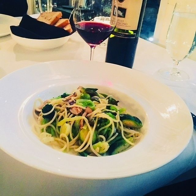 """Photo of Americana  by <a href=""""/members/profile/wellelephant"""">wellelephant</a> <br/>My lovely vegan tasting menu accompanied by excellent wine <br/> February 22, 2018  - <a href='/contact/abuse/image/112823/362557'>Report</a>"""