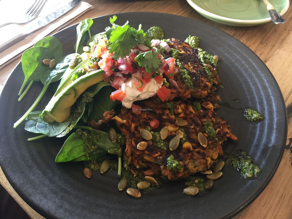 """Photo of One for the Crow  by <a href=""""/members/profile/Tiggy"""">Tiggy</a> <br/>Zucchini, pumpkin and corn fritters - OK <br/> March 18, 2018  - <a href='/contact/abuse/image/112836/372246'>Report</a>"""