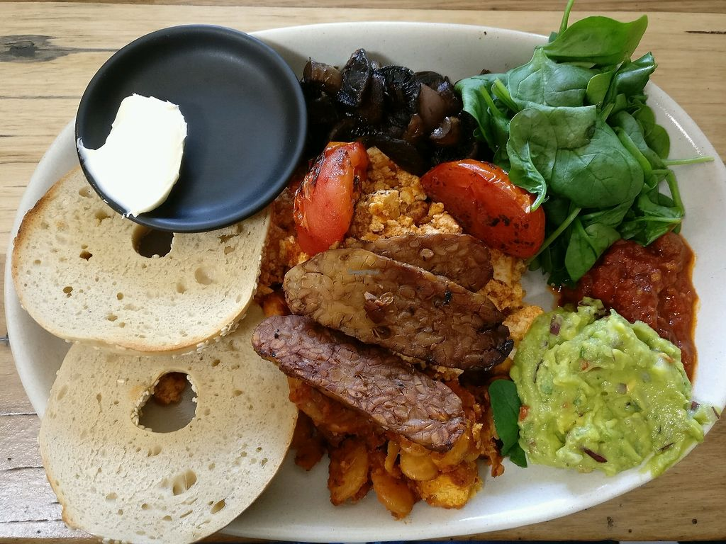 """Photo of One for the Crow  by <a href=""""/members/profile/Aloo"""">Aloo</a> <br/>big breakfast with avo <br/> March 18, 2018  - <a href='/contact/abuse/image/112836/395565'>Report</a>"""