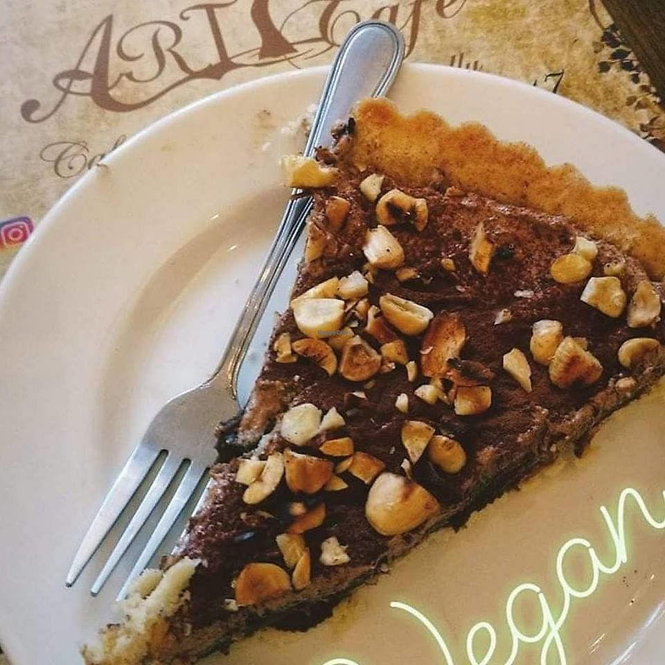 """Photo of ART Cafe  by <a href=""""/members/profile/GabrielMelo"""">GabrielMelo</a> <br/>Vegan pie <br/> February 23, 2018  - <a href='/contact/abuse/image/112838/362912'>Report</a>"""