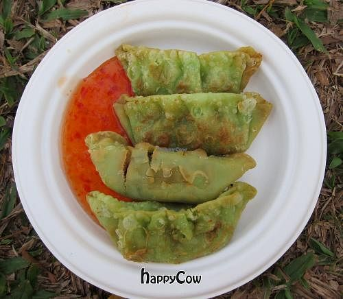 """Photo of Lucky Cow  by <a href=""""/members/profile/cvxmelody"""">cvxmelody</a> <br/>Vegan dumplings <br/> August 31, 2012  - <a href='/contact/abuse/image/11284/37224'>Report</a>"""