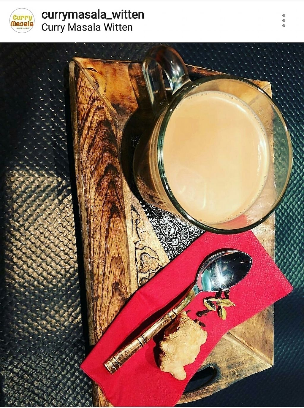 """Photo of Curry Masala  by <a href=""""/members/profile/anupbkc"""">anupbkc</a> <br/>our chai tee :-) <br/> March 6, 2018  - <a href='/contact/abuse/image/112899/367339'>Report</a>"""