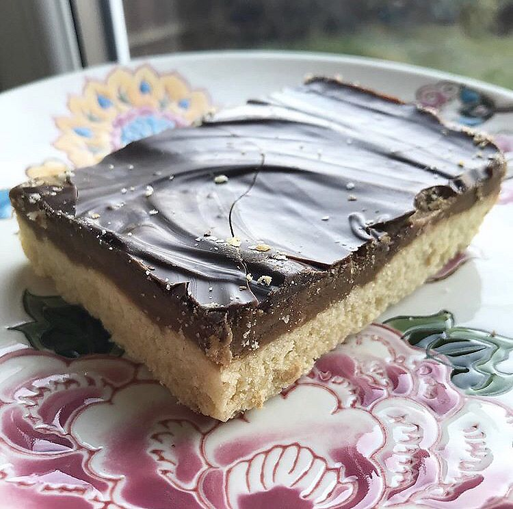 """Photo of Natural Food Company  by <a href=""""/members/profile/_vegayn_"""">_vegayn_</a> <br/>Millionaires shortbread.  <br/> April 11, 2018  - <a href='/contact/abuse/image/11291/384136'>Report</a>"""