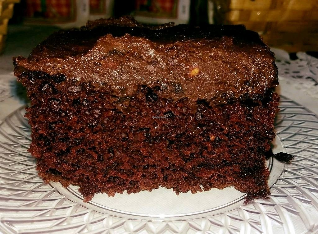 "Photo of Tea Thyme  by <a href=""/members/profile/krishnaaddanki"">krishnaaddanki</a> <br/>Fresh out of oven. Yummmm. Vegan Chocolate cake with chocolate peanut butter frosting <br/> April 18, 2018  - <a href='/contact/abuse/image/112945/387436'>Report</a>"
