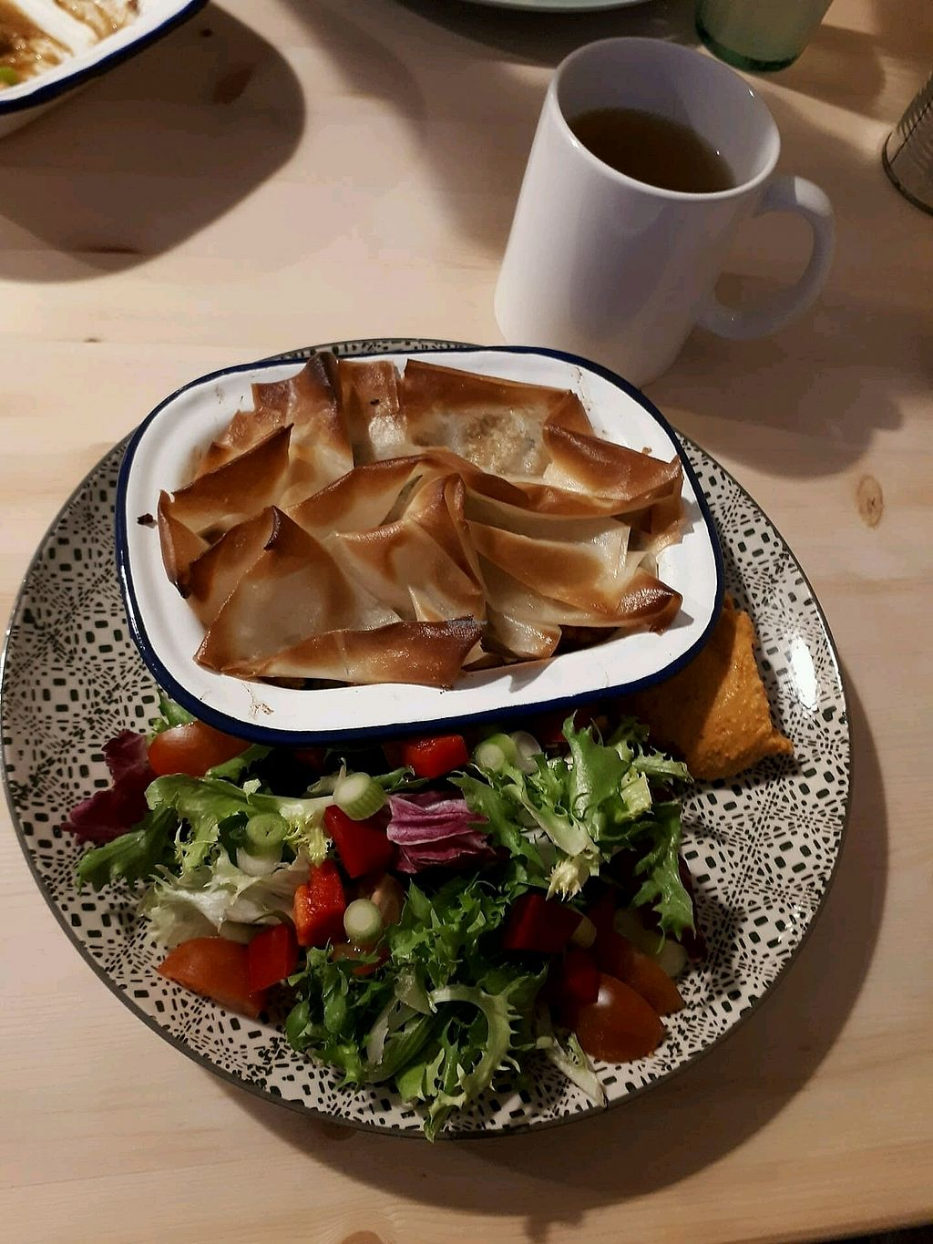 """Photo of The Greenhouse Eatery  by <a href=""""/members/profile/IngaL."""">IngaL.</a> <br/>Morocco pot pie <br/> March 30, 2018  - <a href='/contact/abuse/image/112970/378506'>Report</a>"""