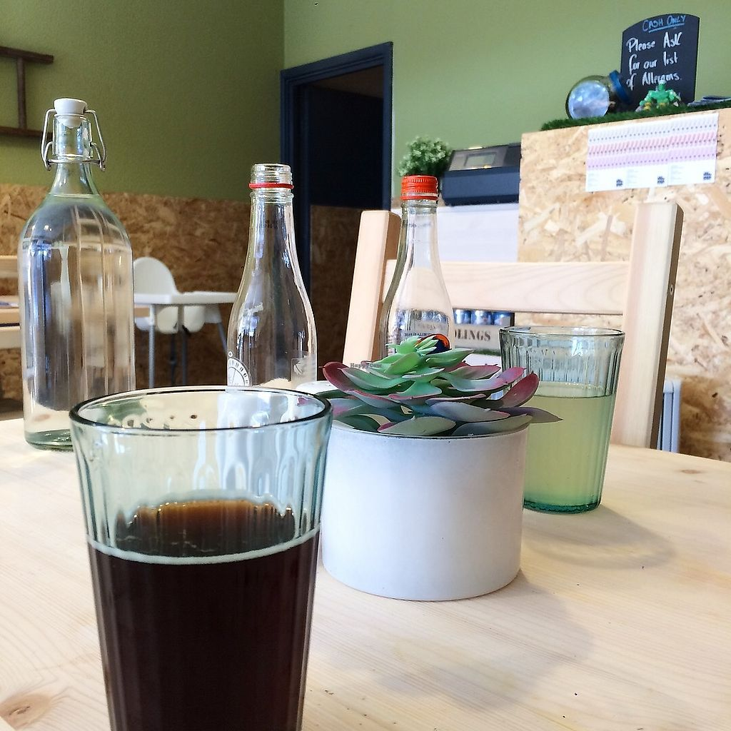 """Photo of The Greenhouse Eatery  by <a href=""""/members/profile/LaurenMartin"""">LaurenMartin</a> <br/>TGH - Karma Cola and Gingerella <br/> April 21, 2018  - <a href='/contact/abuse/image/112970/389096'>Report</a>"""