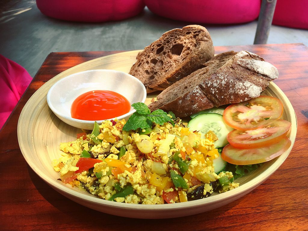 """Photo of The Fisherman Vegan Restaurant   by <a href=""""/members/profile/IlonaGoossens"""">IlonaGoossens</a> <br/>Incredible tofu scramble !  <br/> March 15, 2018  - <a href='/contact/abuse/image/113002/370873'>Report</a>"""