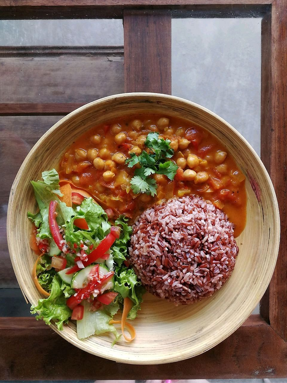 """Photo of The Fisherman Vegan Restaurant   by <a href=""""/members/profile/lulu1"""">lulu1</a> <br/>curry with brown rice <br/> April 22, 2018  - <a href='/contact/abuse/image/113002/389272'>Report</a>"""
