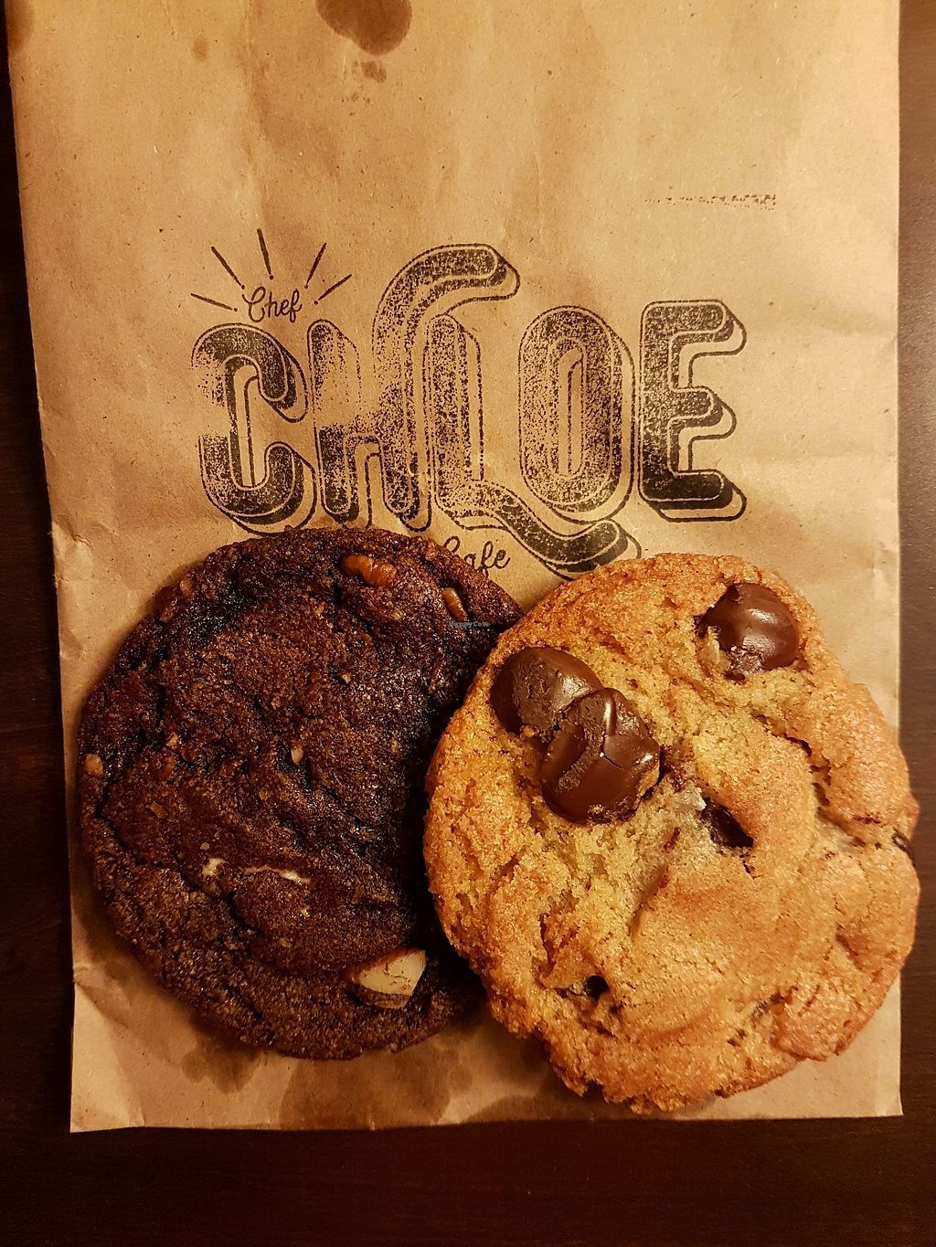 """Photo of Chef Chloe and the Vegan Cafe  by <a href=""""/members/profile/happy_globetrotter"""">happy_globetrotter</a> <br/>yummiest vegan cookies <br/> March 2, 2018  - <a href='/contact/abuse/image/113080/365793'>Report</a>"""
