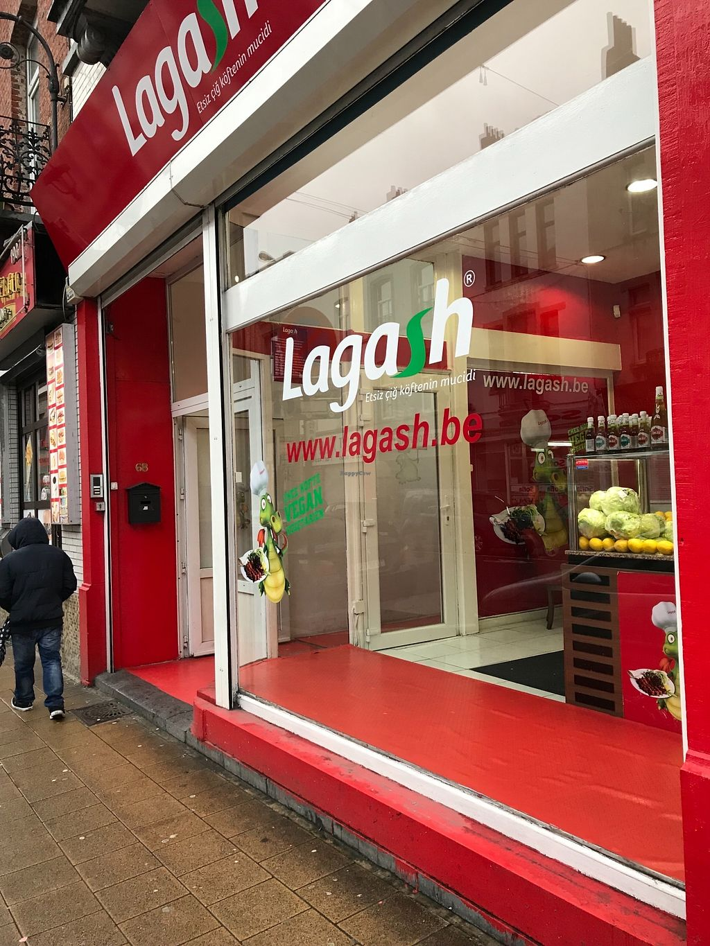 """Photo of Lagash - Laeken  by <a href=""""/members/profile/madisonehaley"""">madisonehaley</a> <br/>front of restaurant  <br/> March 28, 2018  - <a href='/contact/abuse/image/113115/377395'>Report</a>"""