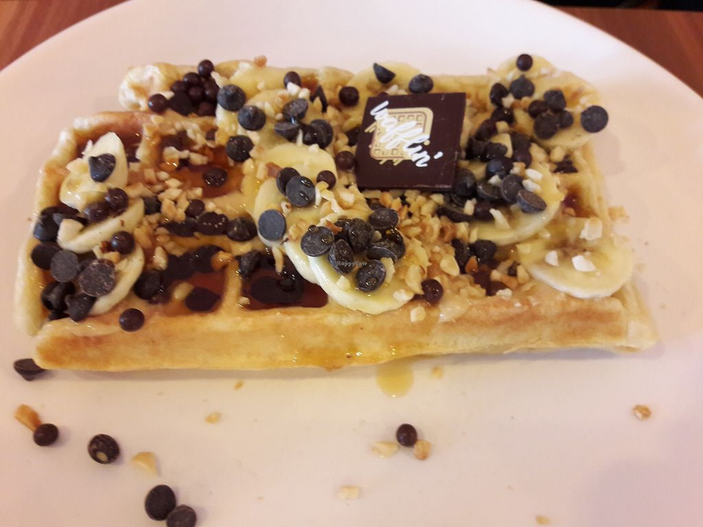 """Photo of Wafflin'  by <a href=""""/members/profile/jennyc32"""">jennyc32</a> <br/>Vegan waffles! <br/> March 17, 2018  - <a href='/contact/abuse/image/113121/372008'>Report</a>"""