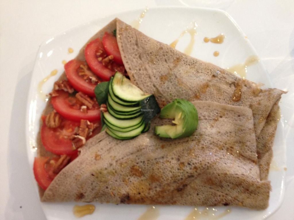 "Photo of Hibiscus  by <a href=""/members/profile/SP"">SP</a> <br/>buckwheat crepe with tomato, spinach, avocado, pecans <br/> June 23, 2015  - <a href='/contact/abuse/image/11316/107127'>Report</a>"