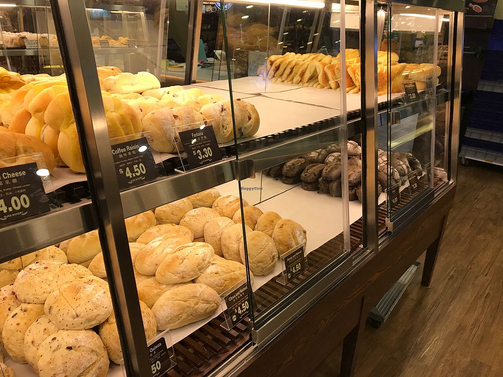 "Photo of Duke Bakery - United Square  by <a href=""/members/profile/Sweetveganneko"">Sweetveganneko</a> <br/>The entire bottom row is vegan <br/> March 18, 2018  - <a href='/contact/abuse/image/113229/372217'>Report</a>"