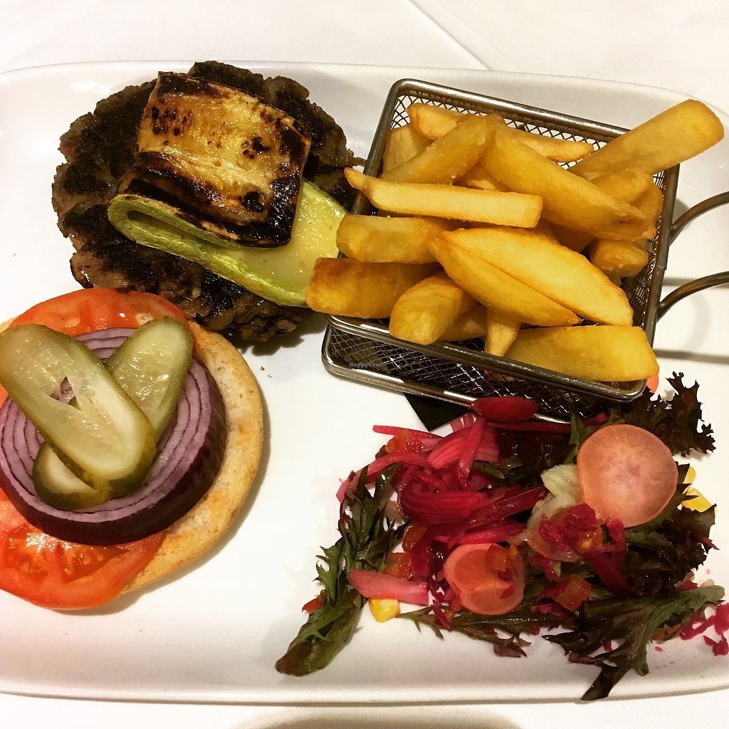 """Photo of Ginger  by <a href=""""/members/profile/NadiaBE"""">NadiaBE</a> <br/>Wild mushroom burger <br/> March 14, 2018  - <a href='/contact/abuse/image/113306/370677'>Report</a>"""
