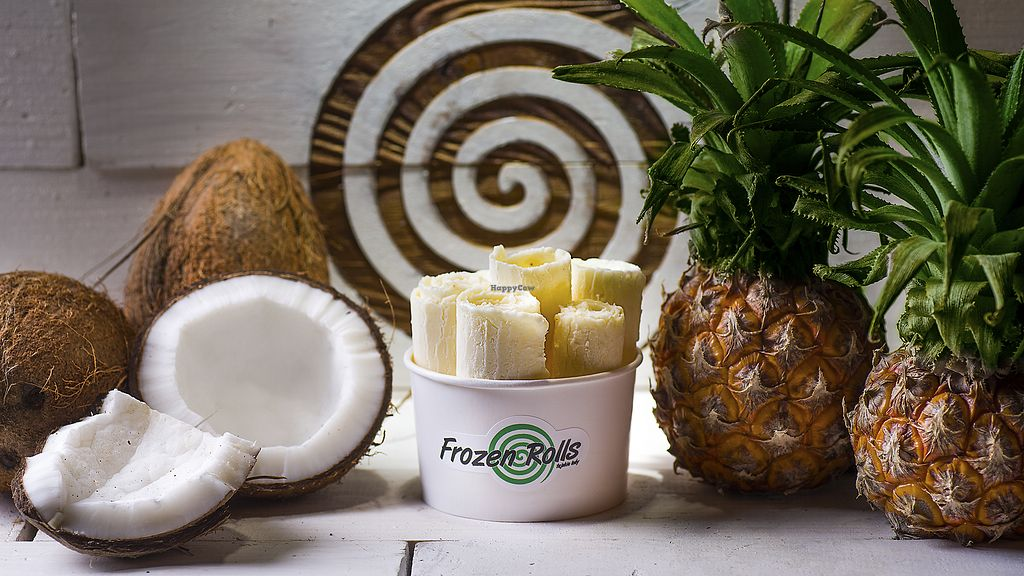 """Photo of Frozen Rolls - Tajskie Lody  by <a href=""""/members/profile/frozenrolls123"""">frozenrolls123</a> <br/>Thai Pina Colada <br/> March 1, 2018  - <a href='/contact/abuse/image/113335/365330'>Report</a>"""