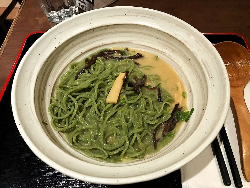 """Photo of Ramen Isshin  by <a href=""""/members/profile/Dimanta"""">Dimanta</a> <br/>Kale noodles extra $2 <br/> March 12, 2018  - <a href='/contact/abuse/image/113346/369561'>Report</a>"""