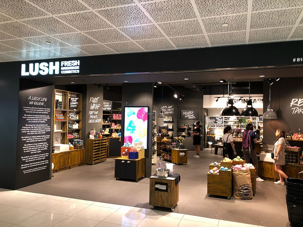 """Photo of Lush - VivoCity  by <a href=""""/members/profile/CherylQuincy"""">CherylQuincy</a> <br/>Store front <br/> March 8, 2018  - <a href='/contact/abuse/image/113395/368086'>Report</a>"""