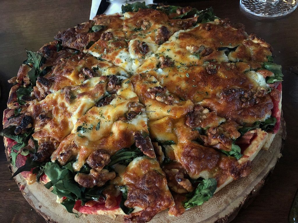 """Photo of Monk's Butcher  by <a href=""""/members/profile/ghdzl"""">ghdzl</a> <br/>beet pizza♡ <br/> May 7, 2018  - <a href='/contact/abuse/image/113401/396481'>Report</a>"""