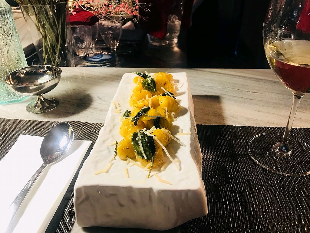 """Photo of Monk's Butcher  by <a href=""""/members/profile/ghdzl"""">ghdzl</a> <br/>pumpkin gnocchi <br/> May 7, 2018  - <a href='/contact/abuse/image/113401/396490'>Report</a>"""