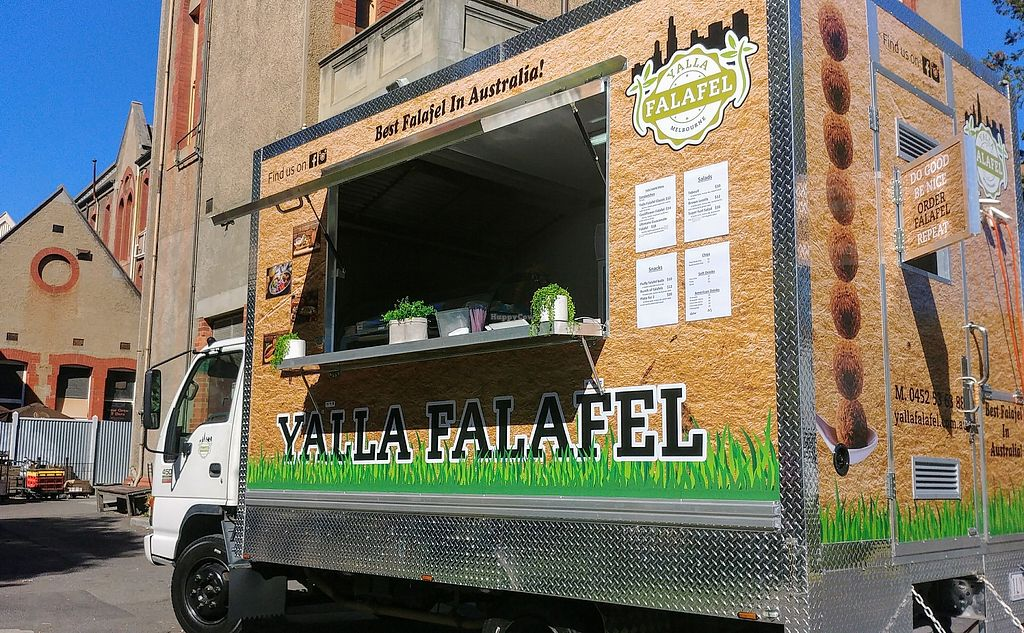 "Photo of Yalla Falafel  by <a href=""/members/profile/karlaess"">karlaess</a> <br/>Food truck <br/> March 3, 2018  - <a href='/contact/abuse/image/113477/365983'>Report</a>"