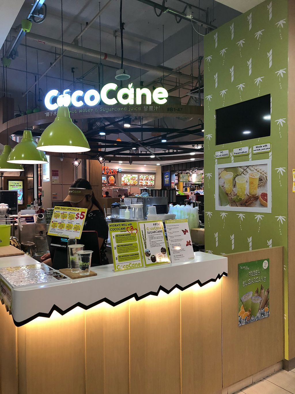 """Photo of CocoCane  by <a href=""""/members/profile/AmyLeySzeThoo"""">AmyLeySzeThoo</a> <br/>Stall front <br/> April 11, 2018  - <a href='/contact/abuse/image/113480/383597'>Report</a>"""