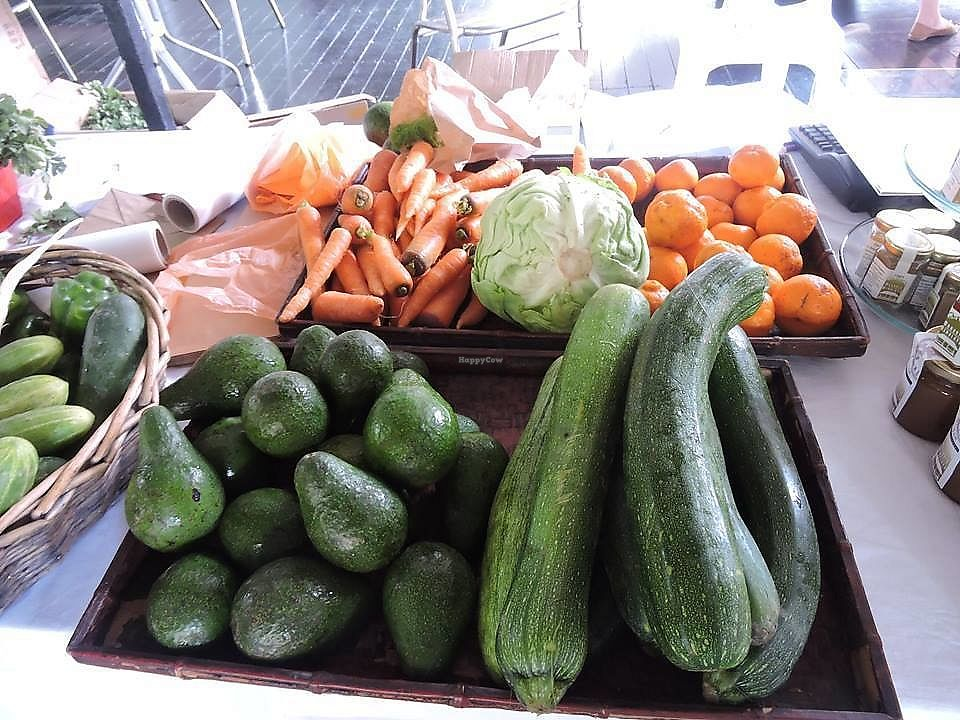 """Photo of Farmers Market at Loewen Gardens  by <a href=""""/members/profile/CherylQuincy"""">CherylQuincy</a> <br/>Fresh Produce (photo taken from Facebook page) <br/> March 4, 2018  - <a href='/contact/abuse/image/113486/366540'>Report</a>"""