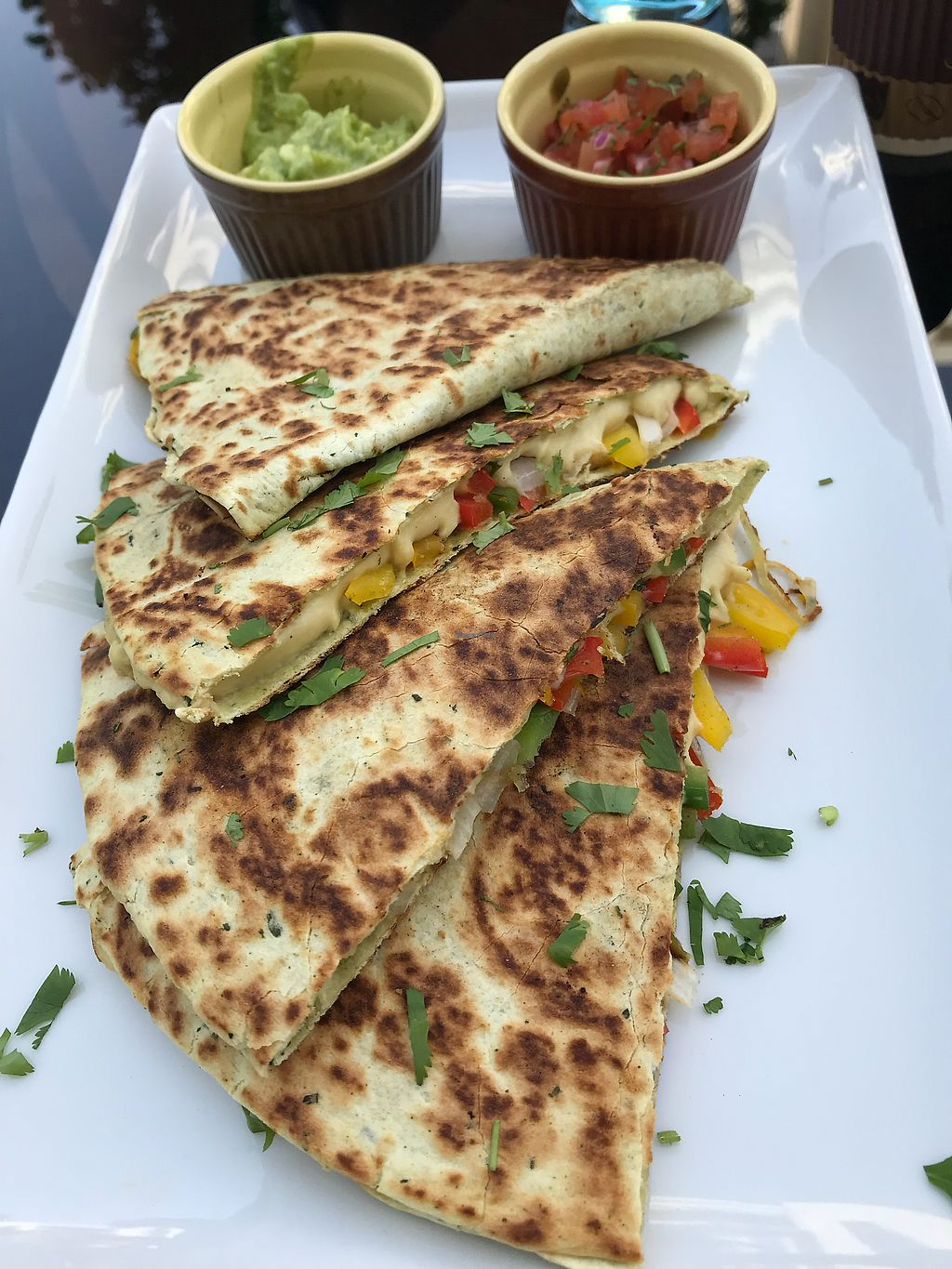"""Photo of Wheatfields  by <a href=""""/members/profile/Ezey11"""">Ezey11</a> <br/>Vegan quesadilla <br/> March 9, 2018  - <a href='/contact/abuse/image/113499/368380'>Report</a>"""