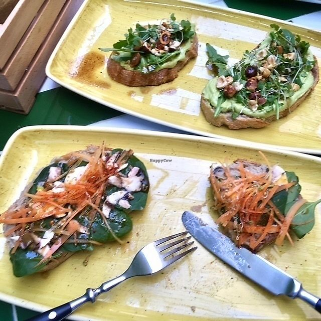 """Photo of El Tropic  by <a href=""""/members/profile/aami"""">aami</a> <br/>hummus and avocado toasts <br/> March 3, 2018  - <a href='/contact/abuse/image/113536/366150'>Report</a>"""
