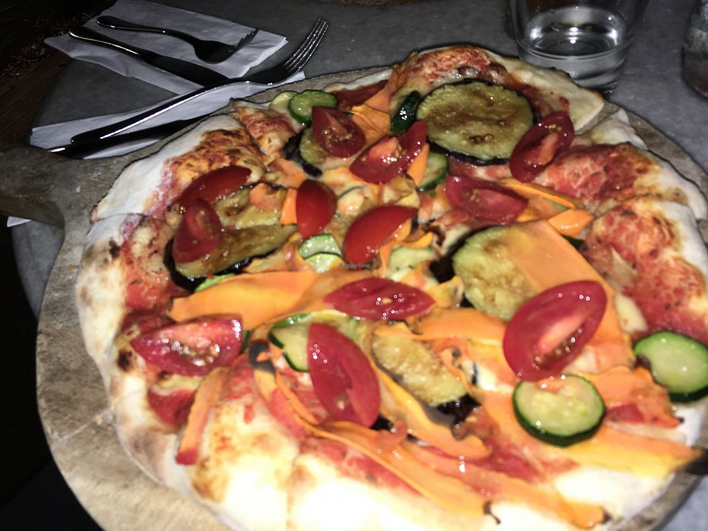 "Photo of Fenice  by <a href=""/members/profile/SophieWhyman"">SophieWhyman</a> <br/>vegan pizza <br/> May 1, 2018  - <a href='/contact/abuse/image/113558/393427'>Report</a>"