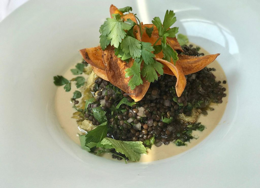"Photo of InnSense Bistro  by <a href=""/members/profile/community5"">community5</a> <br/>Black lentils in tahini <br/> March 14, 2018  - <a href='/contact/abuse/image/113581/370628'>Report</a>"
