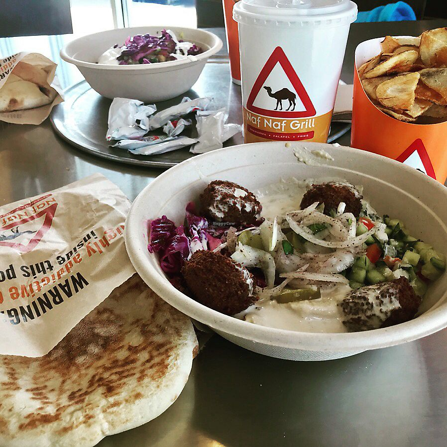 "Photo of Naf Naf Grill  by <a href=""/members/profile/KarenTatur"">KarenTatur</a> <br/>Falafel Bowl <br/> March 3, 2018  - <a href='/contact/abuse/image/113609/366325'>Report</a>"