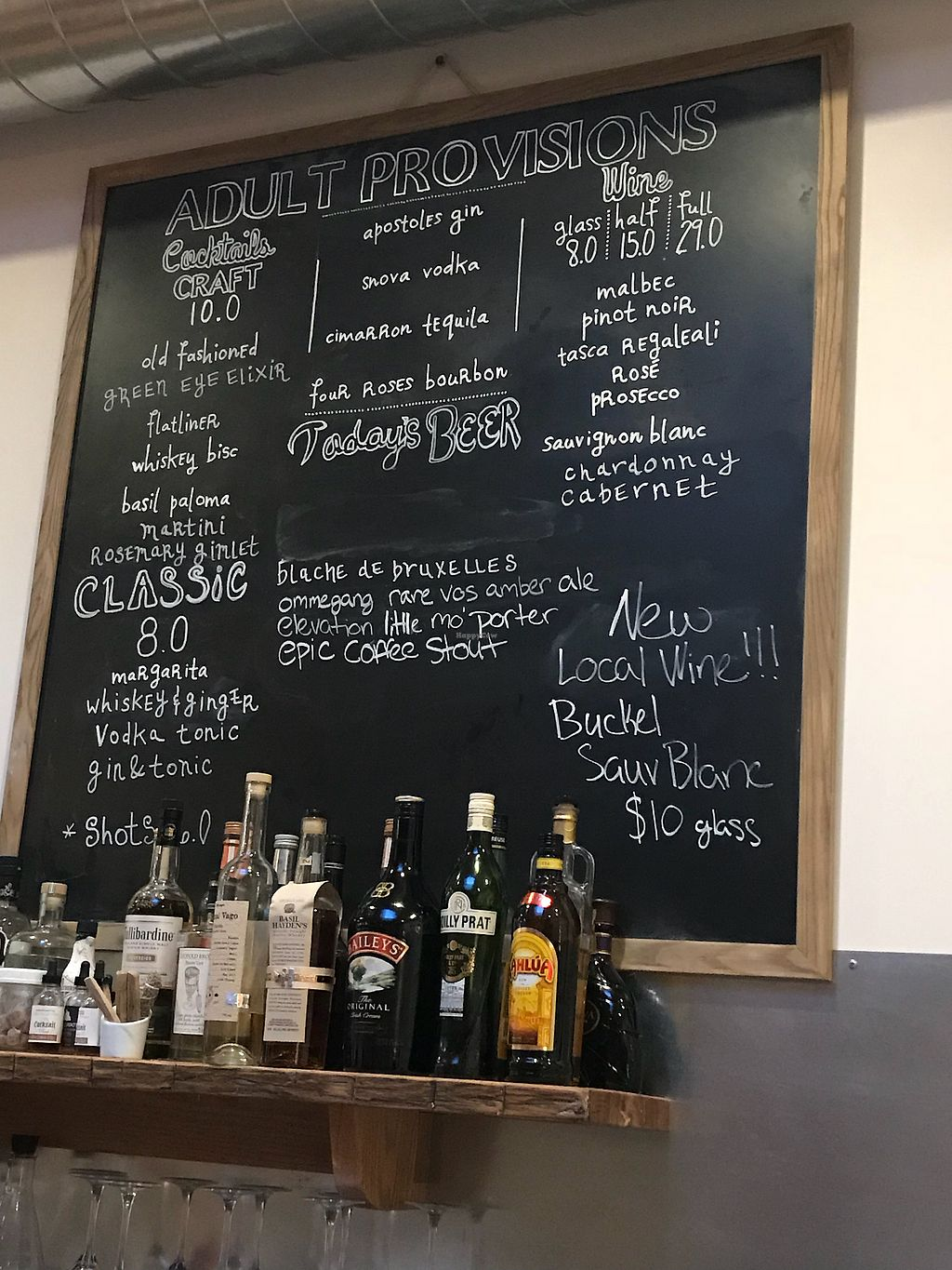 """Photo of Provisions at The Barbershop  by <a href=""""/members/profile/mountainfolk"""">mountainfolk</a> <br/>Drinks <br/> March 12, 2018  - <a href='/contact/abuse/image/113634/369964'>Report</a>"""