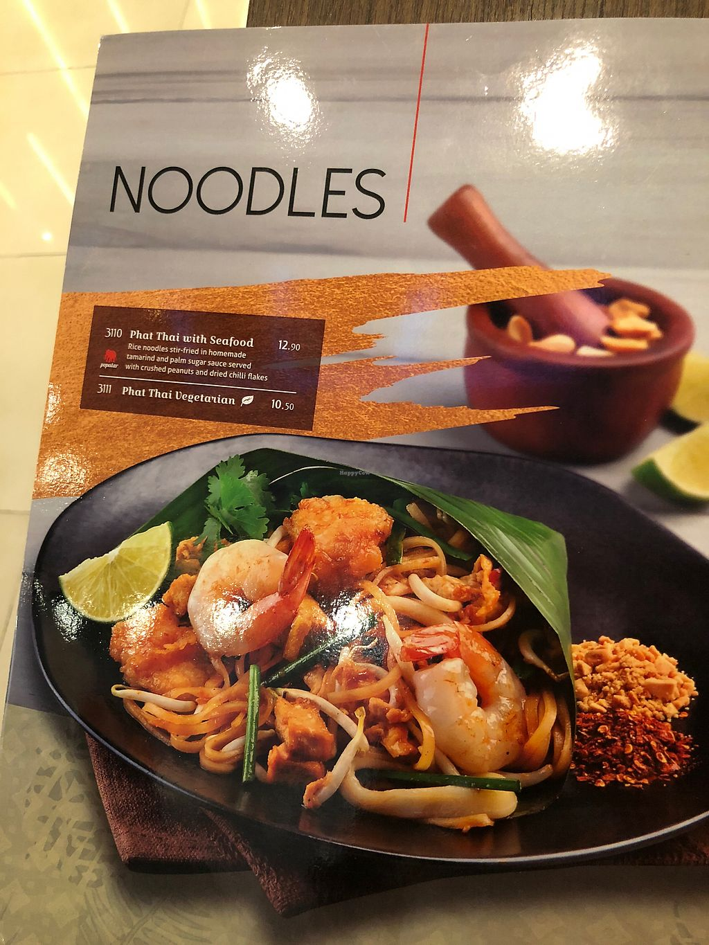 """Photo of ThaiExpress  by <a href=""""/members/profile/Starmone"""">Starmone</a> <br/>Veg options <br/> March 18, 2018  - <a href='/contact/abuse/image/113637/372304'>Report</a>"""