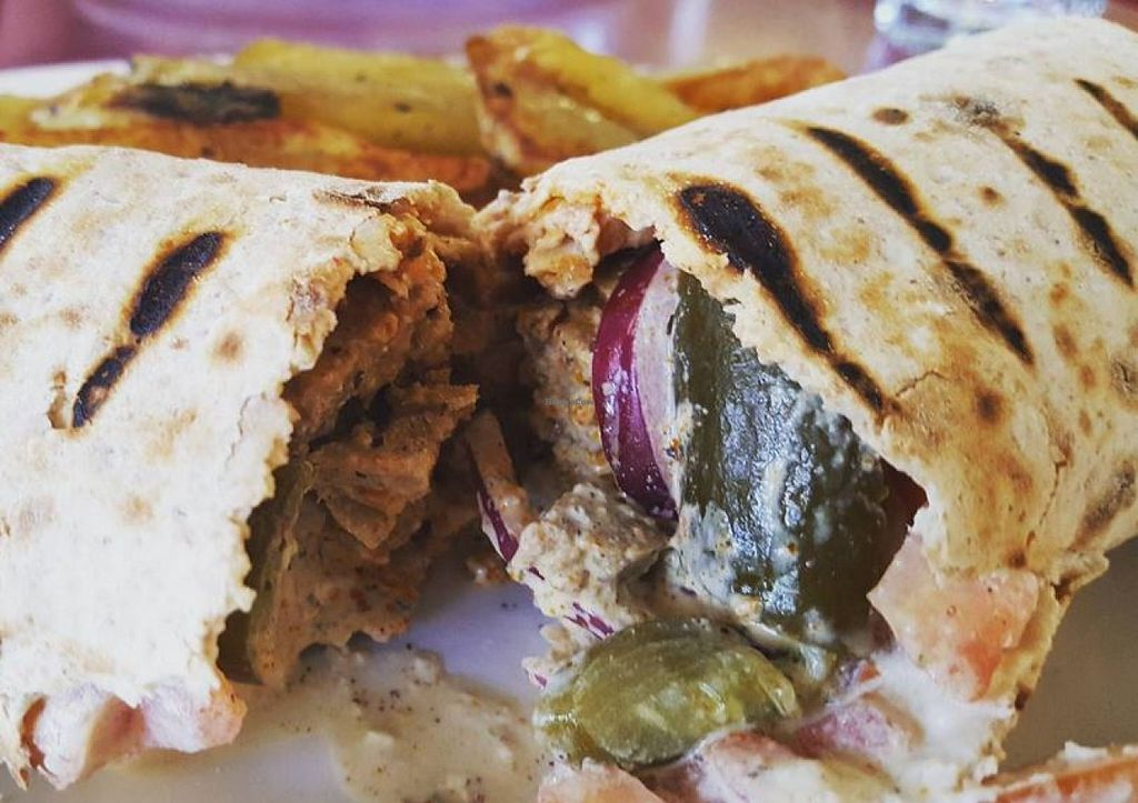"Photo of CLOSED: Herbivore - Berkeley  by <a href=""/members/profile/VeganVentures"">VeganVentures</a> <br/>Shawarma  <br/> June 28, 2016  - <a href='/contact/abuse/image/11367/156538'>Report</a>"