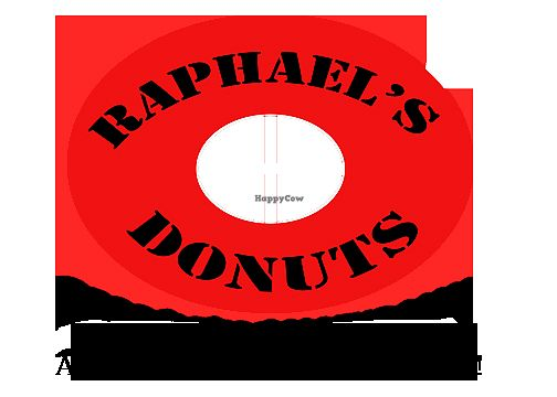 "Photo of Raphael's Donuts  by <a href=""/members/profile/RaphaelsDonuts"">RaphaelsDonuts</a> <br/>Raphael's Donuts logo <br/> April 8, 2018  - <a href='/contact/abuse/image/113703/382564'>Report</a>"