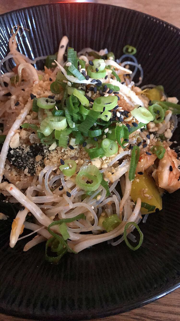 """Photo of The Peach Tree  by <a href=""""/members/profile/KatieFrost"""">KatieFrost</a> <br/>Noodle salad <br/> April 27, 2018  - <a href='/contact/abuse/image/113713/391672'>Report</a>"""