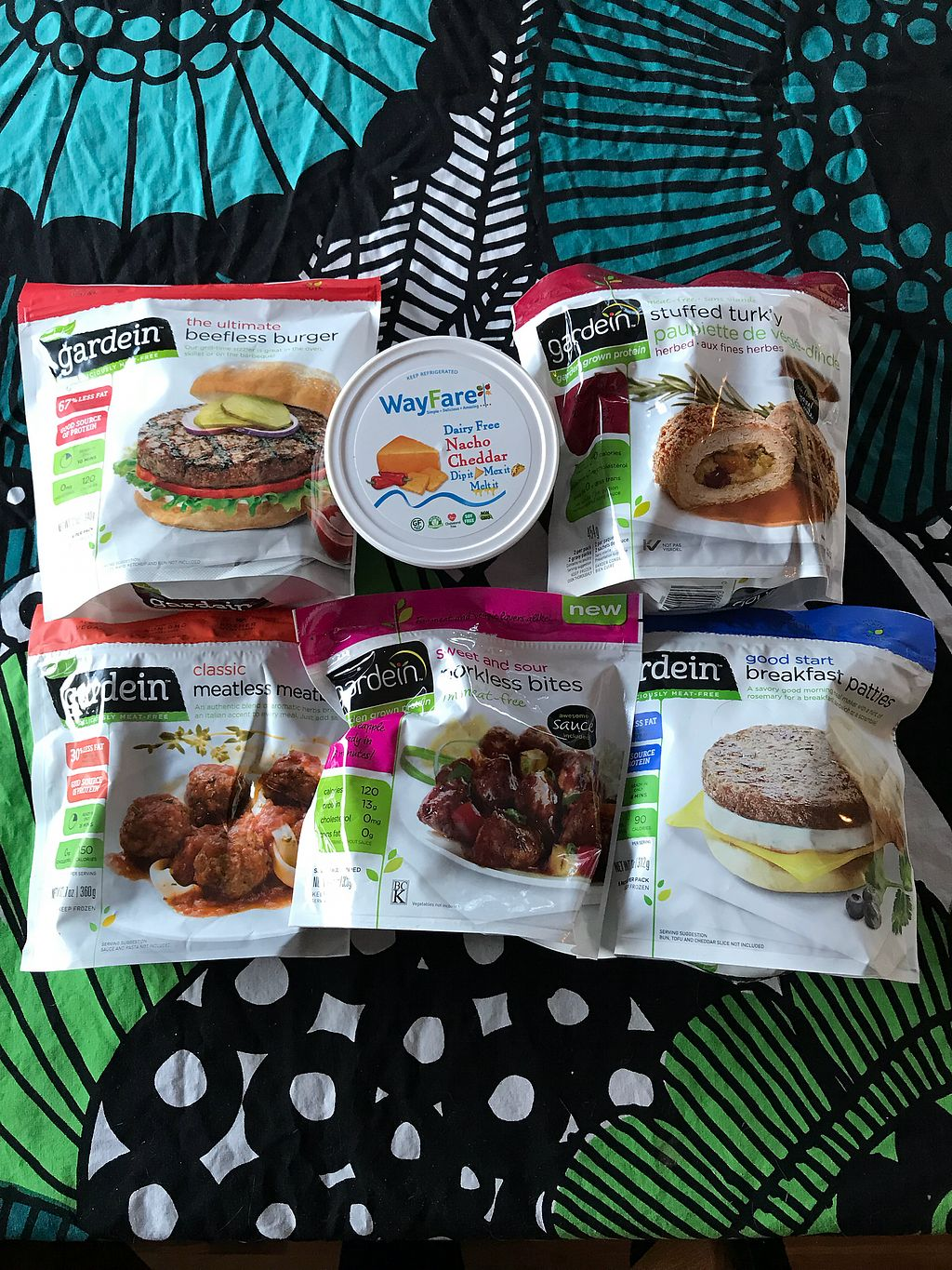 """Photo of ABC Christian Store  by <a href=""""/members/profile/vegetariangirl"""">vegetariangirl</a> <br/>Gardein and wayfare <br/> March 9, 2018  - <a href='/contact/abuse/image/113721/368495'>Report</a>"""