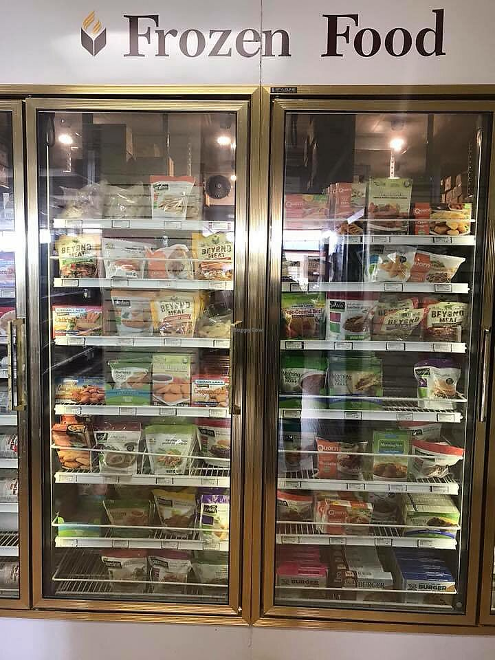 """Photo of ABC Christian Store  by <a href=""""/members/profile/vegetariangirl"""">vegetariangirl</a> <br/>Freezer <br/> March 9, 2018  - <a href='/contact/abuse/image/113721/368503'>Report</a>"""