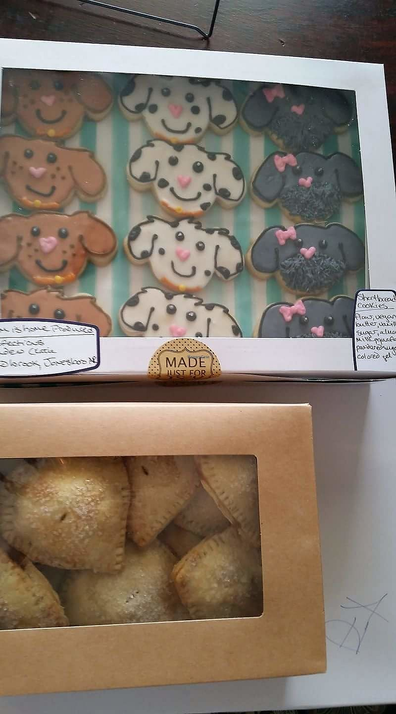 """Photo of Kind Confections  by <a href=""""/members/profile/ladenfamily%40yahoo.com"""">ladenfamily@yahoo.com</a> <br/>Cookies and hand pies <br/> March 5, 2018  - <a href='/contact/abuse/image/113726/367112'>Report</a>"""