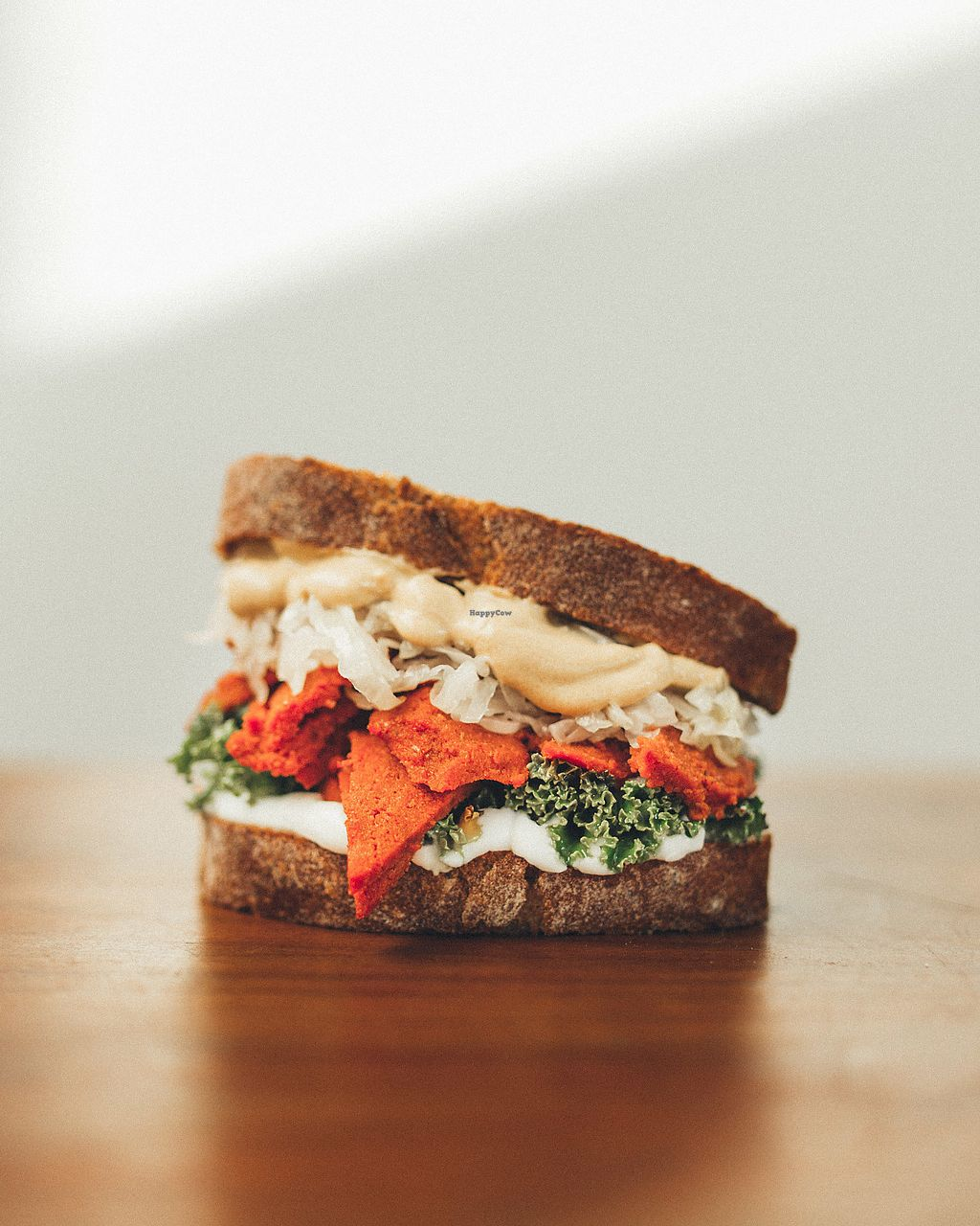 """Photo of Kucha  by <a href=""""/members/profile/Kucha"""">Kucha</a> <br/>Serđo -  buckwheat/beetroot pastrami sandwich in home made bread <br/> March 5, 2018  - <a href='/contact/abuse/image/113795/367212'>Report</a>"""