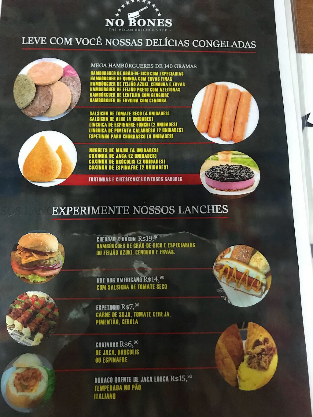 "Photo of No Bones - The Vegan Butcher Shop  by <a href=""/members/profile/rackoo"">rackoo</a> <br/>Menu page 2 <br/> May 9, 2018  - <a href='/contact/abuse/image/113797/397541'>Report</a>"